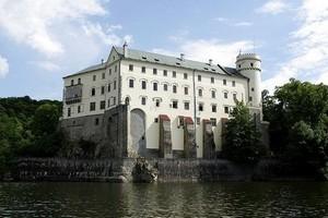Замок Орлик над Влтавой, Чехия.