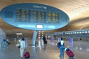 Аэропорт Шарля де Голля во Франции