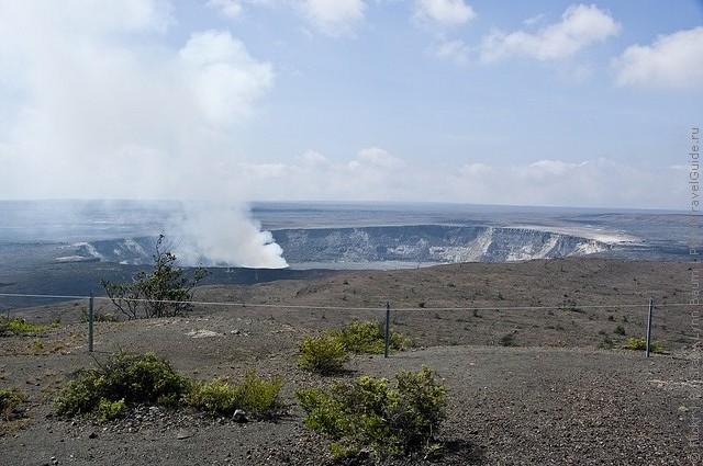 Национальный парк Гавайские вулканы, Гавайи.
