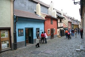 Золотая улочка в Праге, Чехия.