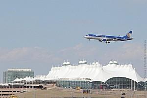 Международный аэропорт Денвера, США.