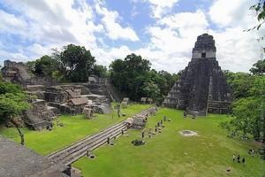 Древний город Тикаль