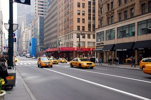 Улица Пятая Авеню в Нью-Йорке