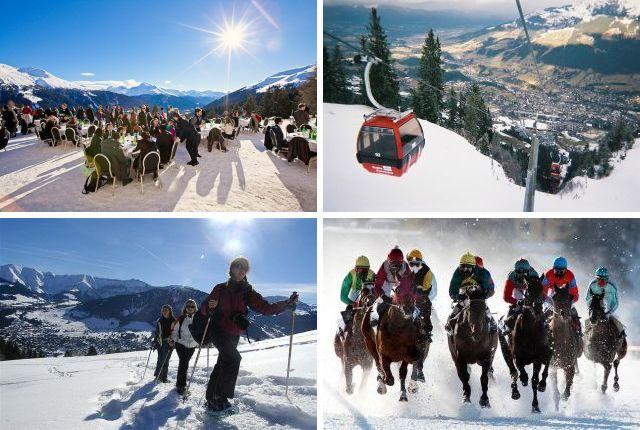 Горнолыжные курорты Альп