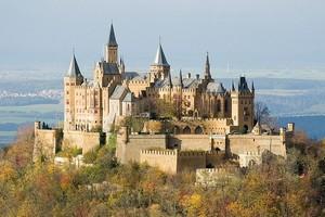 Замок Гогенцоллерн, Германия.