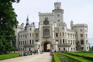 Замок Глубока-над-Влтавой, Чехия.