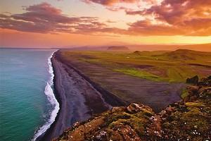 Полуночное Солнце, Исландия