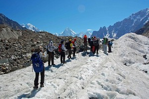 Ледник Балторо в Пакистане