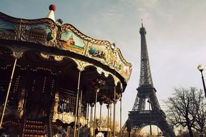 Город Париж, Франция.
