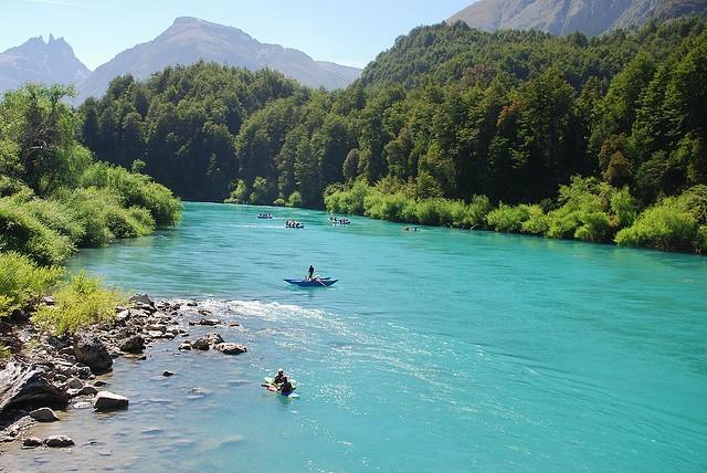 Река Футалеуфу, Аргентина