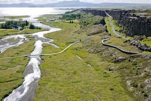 Парк Тингветлир в Исландии