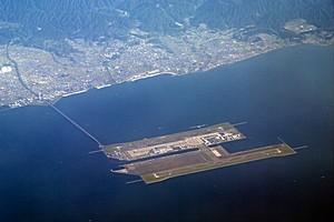 Аэропорт Кансай в Японии