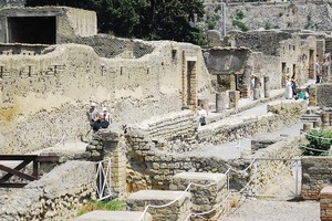Древнеримский город Геркуланум