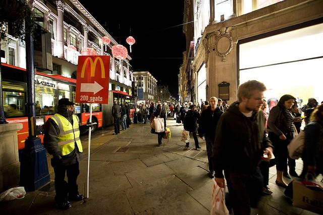 Улица оксфорд стрит в лондоне англия