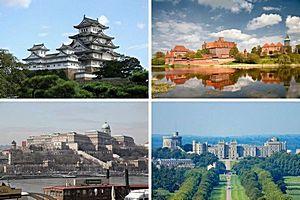 Самые большие замки в мире.