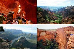 Самые красивые каньоны в мире