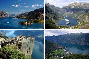 10 самых красивых фьордов в мире.