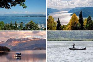 Самые красивые озера мира.