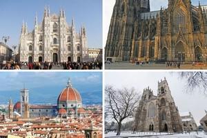 10 готических соборов средневековой Европы.