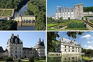 Замки Луары, Франция
