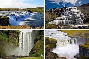 20 лучших водопадов Исландии.