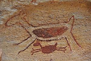 Топ 10 древних наскальных рисунков.