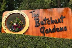 Сады Бутчартов в Канаде