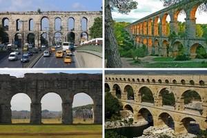 10 впечатляющих древних акведуков.