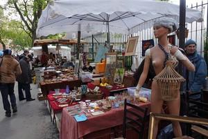 Блошиные рынки Франции