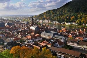 Город Гейдельберг, Германия.
