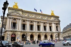 Опера Гарнье в Париже, Франция.