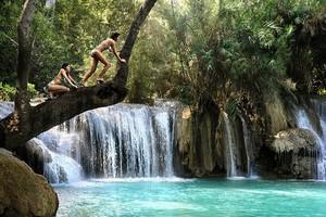 Водопад Тат Куанг Си, Лаос