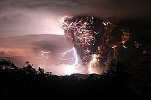 Вулкан Чайтен, Чили