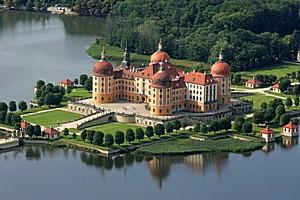 Замок Морицбург, Германия.