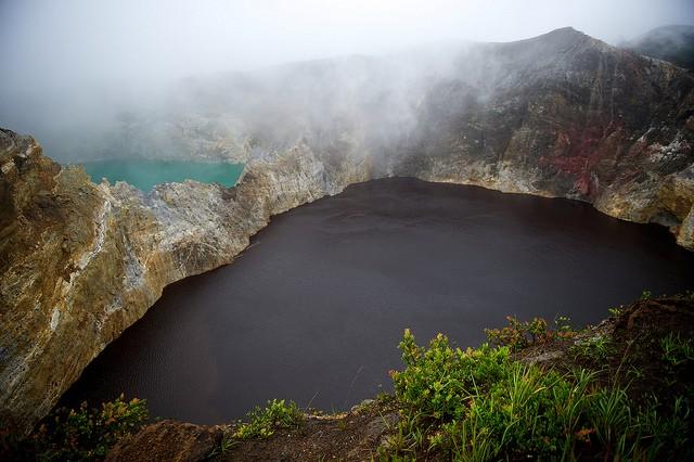 вулкан Келимуту Индонезия