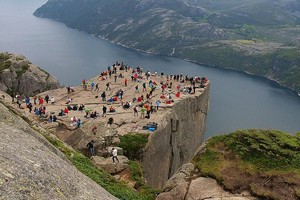 Люсе-фьорд в Норвегии
