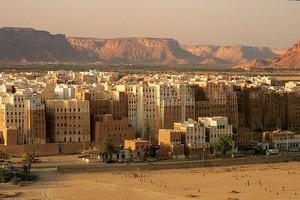 Город Шибам, Йемен