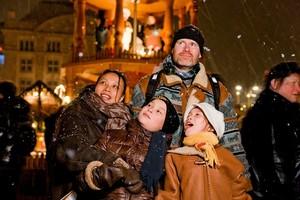 Рождественская ярмарка Штрицельмаркт, Германия.