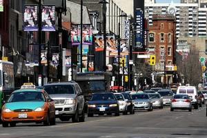 Улица Янг Стрит, Канада