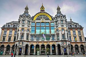 Антверпен-Центральный в Бельгии