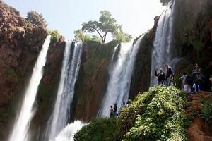 Водопад Узуд, Марокко