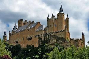 Алькасар в Сеговии, Испания.
