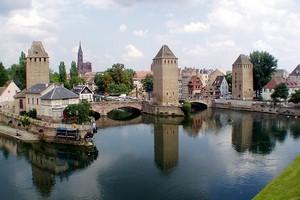 Крытые мосты в Страсбурге