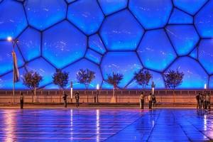 Водный Куб в Пекине