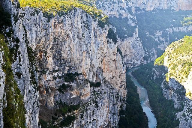 ущелье вердон во франции