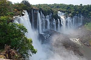 Водопад Каландула, Ангола