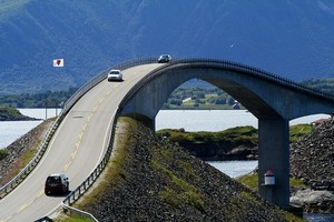 Сторсесундетский мост, Норвегия.