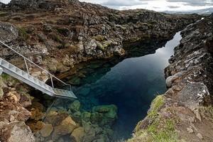 Трещина Силфра, Исландия