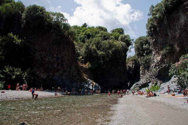 ущелье Алькантара