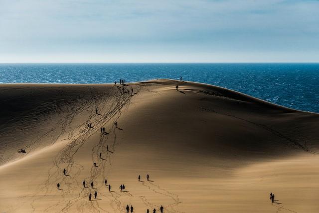 дюны Тоттори